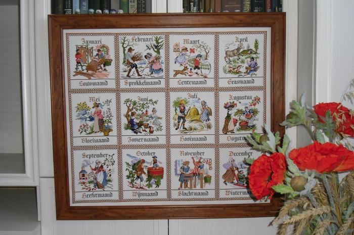"""Фото. """"Сельский календарь"""" от фирмы PAKO.  Автор работы - МамикоЛи"""