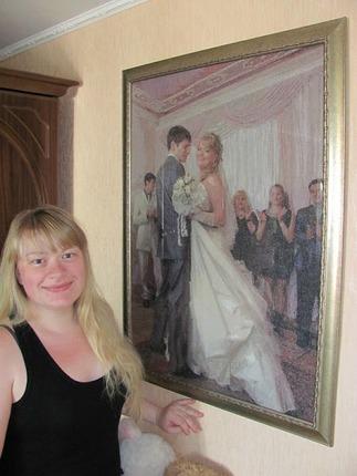 Фото. Свадебный портрет.  Автор работы - Lelika13