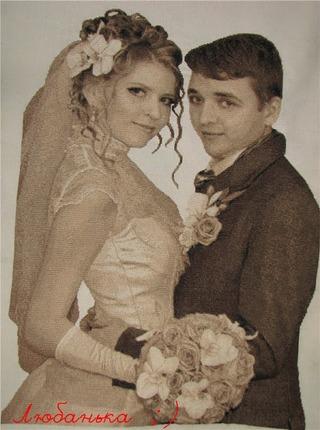 Фото. Свадебный портрет - на долгую память.  Автор работы - Канапуся