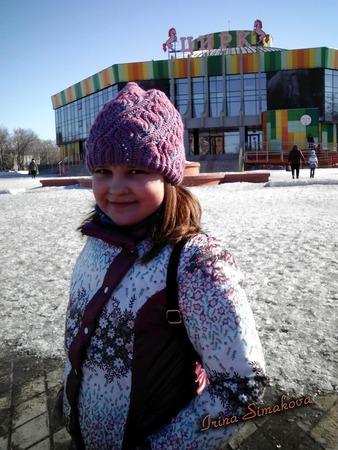 Фото. Весенняя курточка для дочери.  Автор работы - мамочкаИрочка