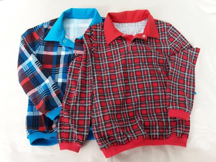 Фото. Рубашки поло для внука из х/б кулирки. Автор работы - Olga-Sh