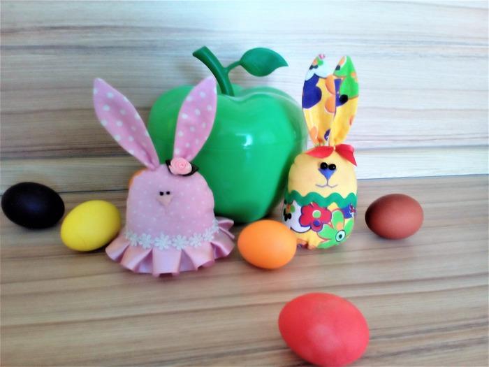 Фото. Милые пасхальные зайчики для внучки Алисы.  Автор фото - ирина клименко