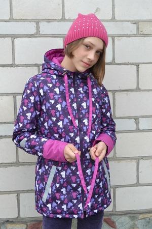 Фото. Демисезонная куртка для дочери. Автор работы - Дымок 2