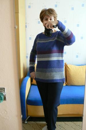 Фото. Простенький полосатик из твида Frisby.  Автор работы - Natal ka