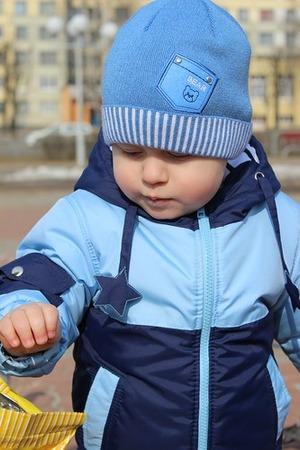 Фото. Куртку синюю возьмём И гулять с тобой пойдём!  Автор работы - cvetok1977