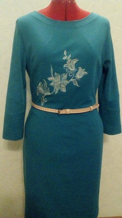 Фото. Платье с вышивкой.  Автор работы - Helena_S