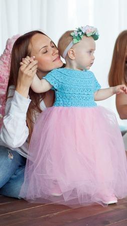 Фото. Платье дочке на годик. Автор работы - Lesy