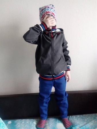 Фото. Ветровка, штаны и шапка. Автор работы - ИВеточка