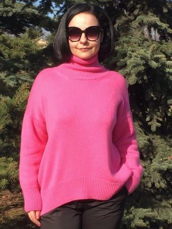 Фото. Свитер Celine 100% кашемир Cariaggi 2\28 в четыре нитки.  Автор работы - Valeria72