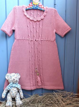 Фото. Просто платье для девочки.   Автор работы - innasun