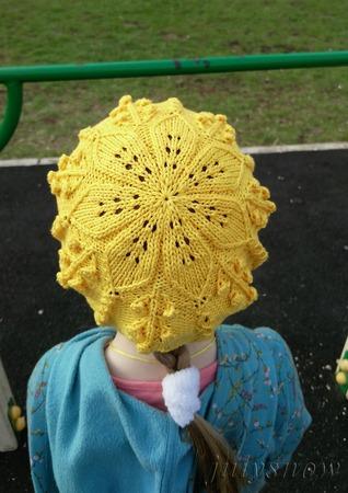 "Фото. Шапочка Little Sunshine by DROPS design. Пряжа Пехорка ""Весенняя"". Автор работы - july snow"