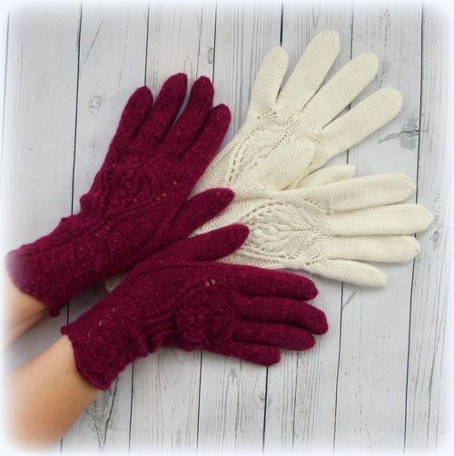 Фото. Перчатки Питайя.   Автор работы - Tory-sunny