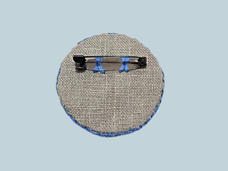 Льняные украшения c ручнной вышивкой