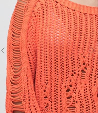 Просторные петли - особый стиль вязания