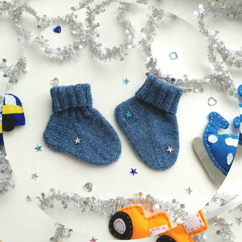 Фото. Малышковые носочки.    Автор работы - Zolushkina_Tapetka