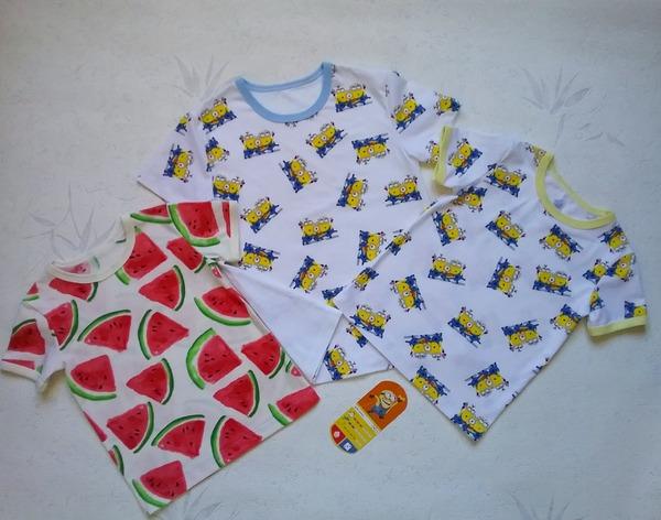 Фото. Просто футболочки из кулирок на лето.  Автор работы - Lyudmila_So