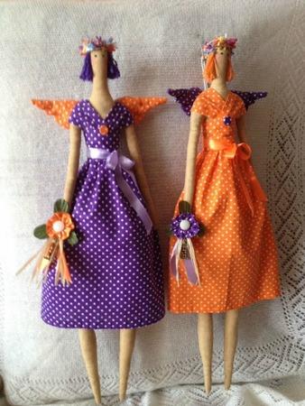 Фото. Каждая кукла - это еще и история. Тильды-веснянки. Автор работы - Melody Pearl