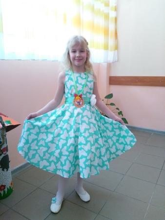 Фото. Платье для дочки. Автор работы - catMishel