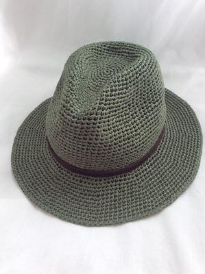 Фото. Вязаная шляпа.  Автор работы - Анжи