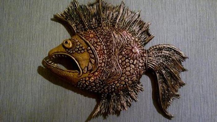 Фото. Необычно - рыба.  Автор работы - AlisaRoss