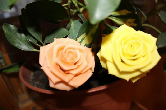 Фото. Розы как живые.  Автор работы - Midnight72