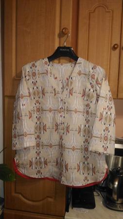Фото. Блузка из льна.  Автор работы - Floretta