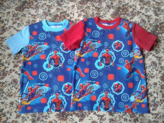 Фото. Две футболки детям. Автор работы - Тать-Янка