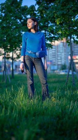 Фото. Пуловер для дочери, меринос с шелком.  Автор работы - Topekha