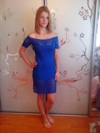 Фото. Платье по мотивам Виктории Лэйс.  Автор работы - Крым Роза