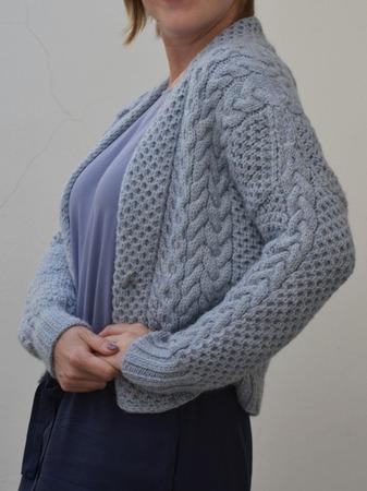 Араны для хрупкого плечика - пуловер от Рубан