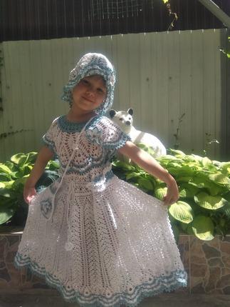 Фото. Платьице для девочки.  Автор работы - IrinaPanfilov
