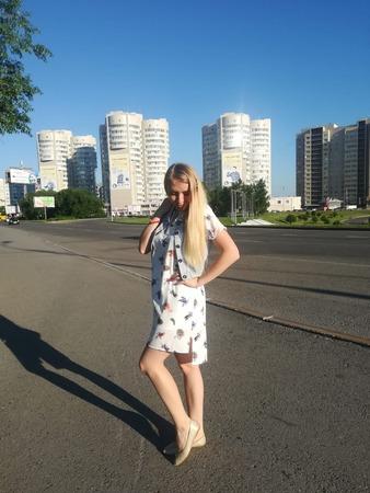 Фото. Летний балахончик. Автор работы - Aleninka