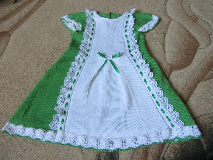 Фото. Платье для внучки из хлопка Lily. Автор работы - mitavi