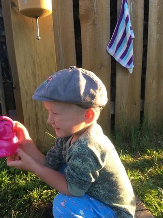 Фото. Кепка-хулиганка для маленького сорви-головы. Автор работы - sovuwka