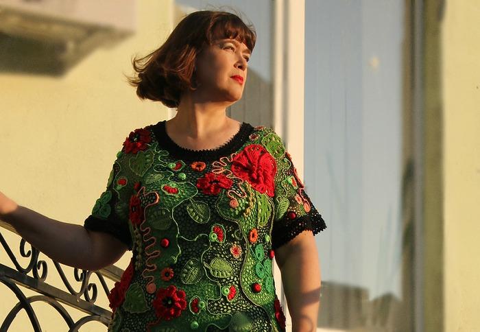 """Фото. Платье """"Сон в летнюю ночь"""".   Автор работы - Sova Fotina"""