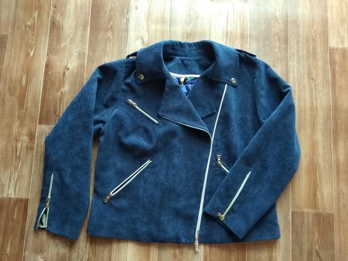 Фото. Куртка-косуха из вельвета. Автор работы - Юля Мячик