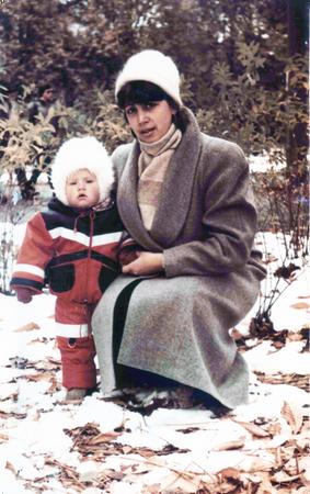 Фото. Первые работы для маленькой дочки (90-е годы, когда в продаже ничего нельзя было купить).