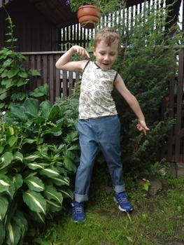 Фото. Брючки  для сына.   Автор работы - Miu!