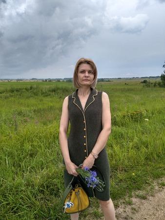 Фото. Платье-жилет-сарафан по описанию Birch Sap.  Автор работы - Yulle