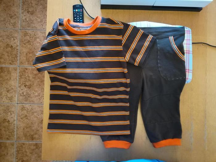 Фото. Шорты и футболка сыну.  Автор работы - Скважина