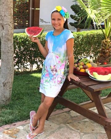 Фото. Летнее платье для дочки.   Автор работы - masmar