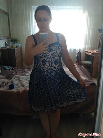 """Фото. Платье """"Моник"""" по мотивам одноимённого платья от Джованны Диас.  Автор работы - Натусик23"""