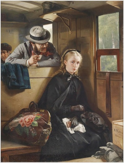 "Фото. Berthold Woltze (German, 1829-1896) ""The Irritating Gentleman"", 1874."