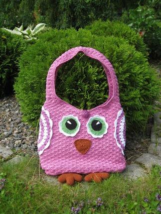 Фото. Совы в тренде! Новая сумочка.  Автор работы - Aiti