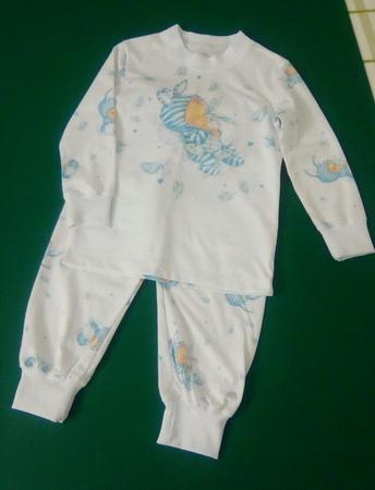 Фото. Пижамка для малышки.   Автор работы - Vors