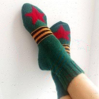 Фото. Новые носочки.   Автор работы - Zolushkina_Tapetka