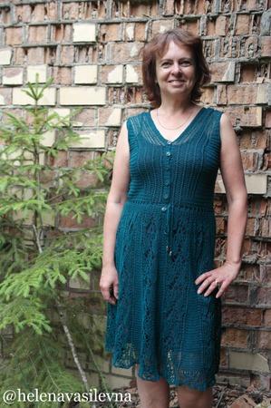 Фото. Платье Сицилия, дизайн Татьяны Чистяковой.   Автор работы - ElenaVas