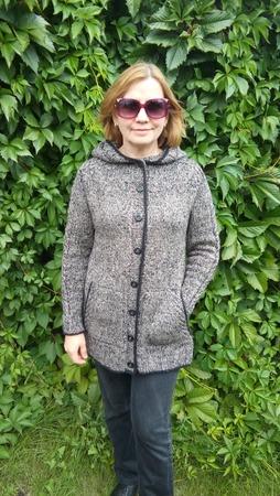 Фото. Жакет по описанию пальто Coat for Roxane,дизайнер Katrin Schneider.  Автор работы - Zar@