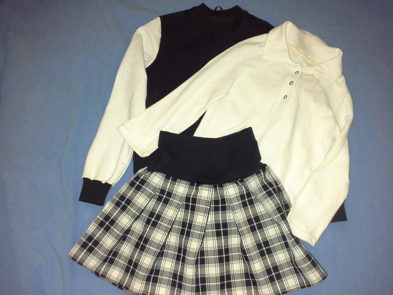 Школьные наряды Автор работы - nnida