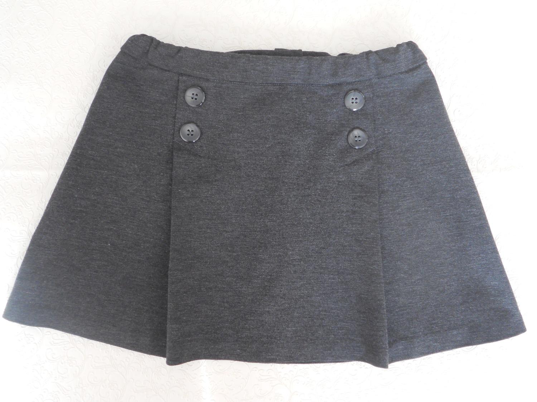 Школьная юбочка для дочки из джерси. Автор работы - Artliz
